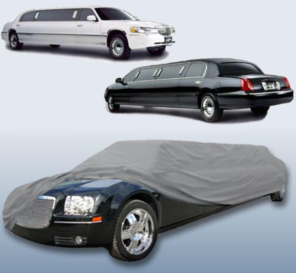 Limousine Limo Stretch Sedan Car Cover for Lincoln Town Car 29 ft - LimoMarket.com