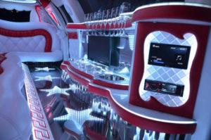 limousine 3d interior