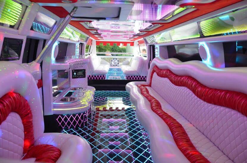 interior hummer limo