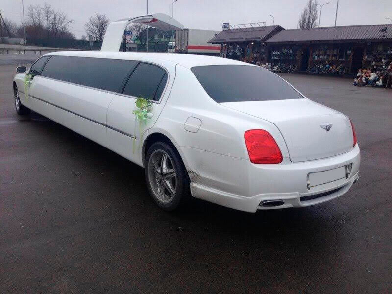 bentley replica limousine