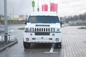 hummer limo front