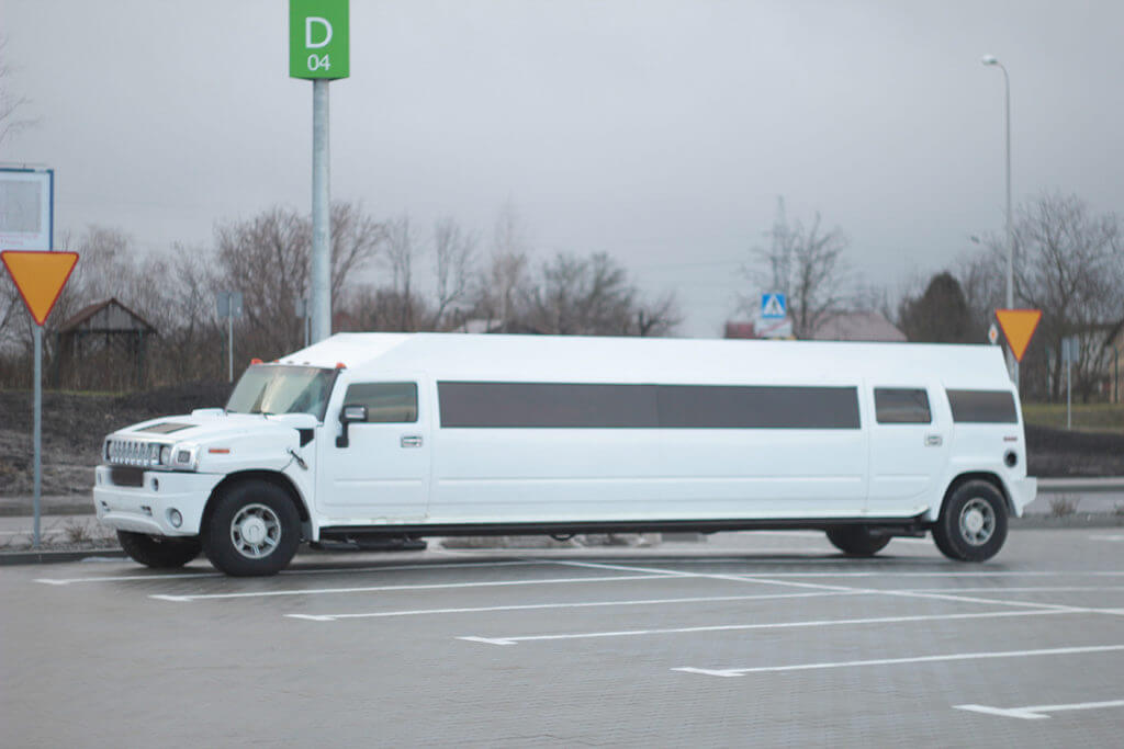 hummer limo for sale side