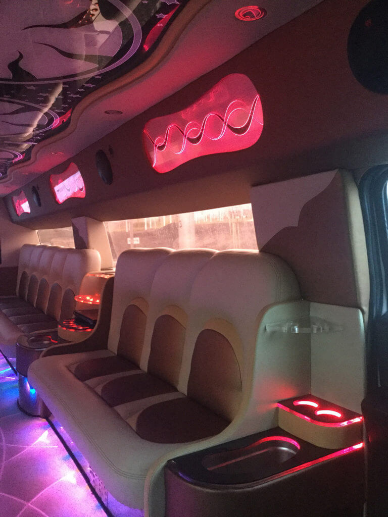 hummer h2 party limo