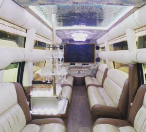 interior party limo