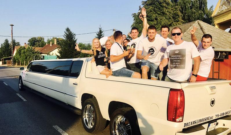 Cadillac Escalade  extra stretch limo full