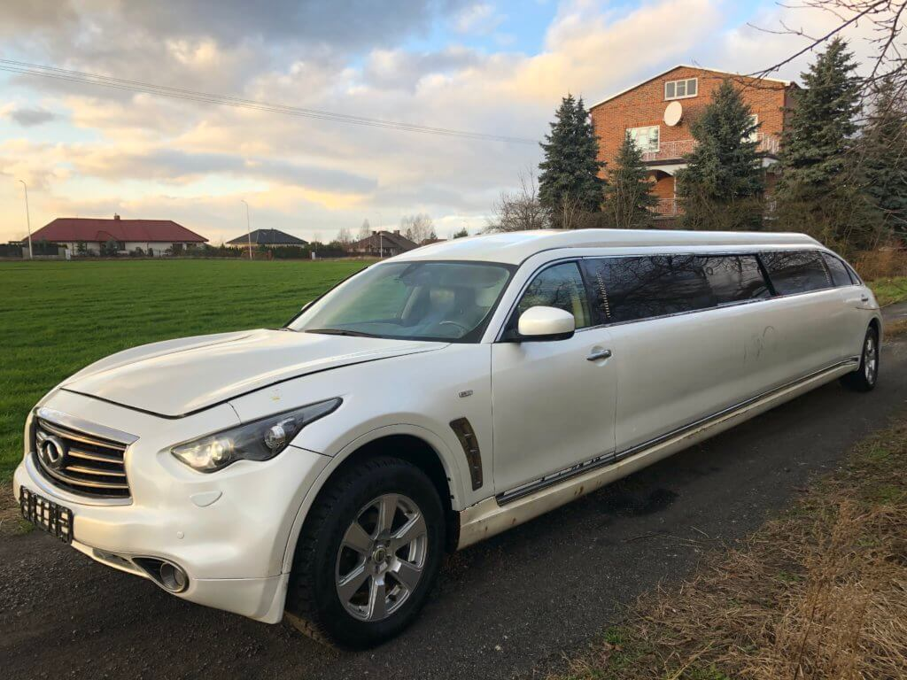 Infiniti FX35 2010 LIMOUSINE! OPEN SIDE WINDOW!!! JET DOOR!!! - LimoMarket.com