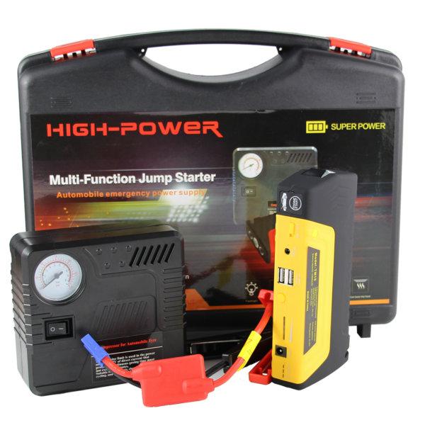 Car Battery jump starter powerbank+compressor - LimoMarket.com